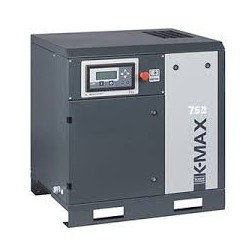 COMPRESSEUR A VIS 7.5CV 10 BARS NUAIR K-MAX 5.5/10  400V TRIPHASE