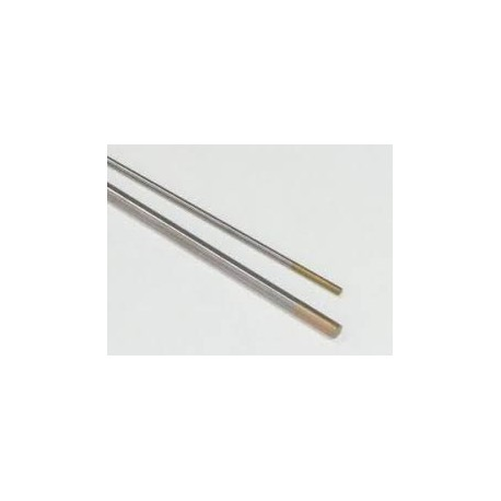 ELECTRODE TUNGSTENE LANTHANE 1.5% OR LONG.175MM