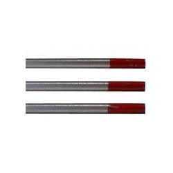 ELECTRODE TUNGSTENE THORIE ROUGE LONG.175MM