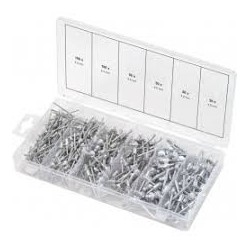 ASSORTIMENT DE 400 RIVETS AL/AC KS TOOLS 970.0150